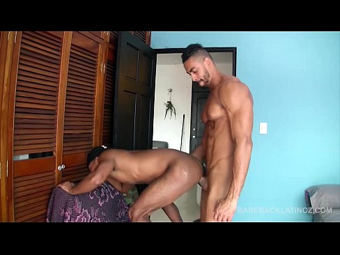 Latinos Valeriano And Julio Bareback