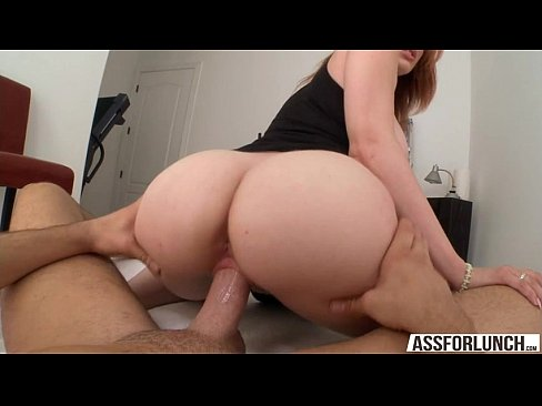 Sexy Redhead Lilith Lust Shows Her Amazing Butt And Gets Fucked On Top