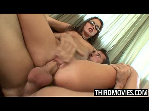 8 min porn video Tori Black in Glasses takes a Big Cock Facial