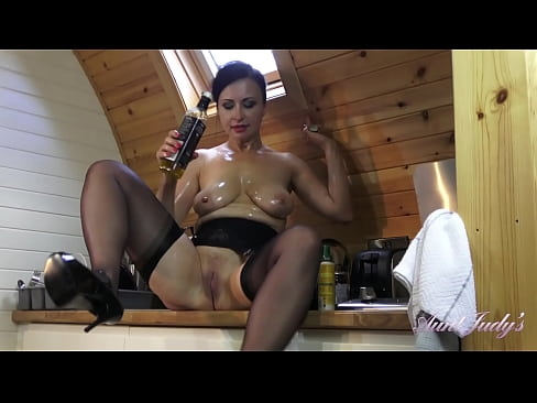 AuntJudys - Sultry 43yo Big Tit MILF Wanilianna gets dirty in the Kitchen
