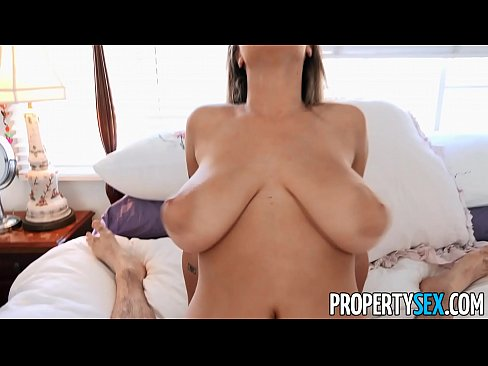 PropertySex Hot Real Estate Agent With Big Tits Bangs Client