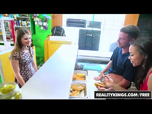 RealityKings - Money Talks - (Adrian Maya) and (Alice March) - Hot Dog Stand
