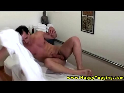 Asian masseuse riding her client during sexy session