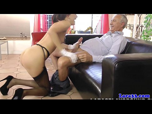 Mature british couples threeway with hot babe