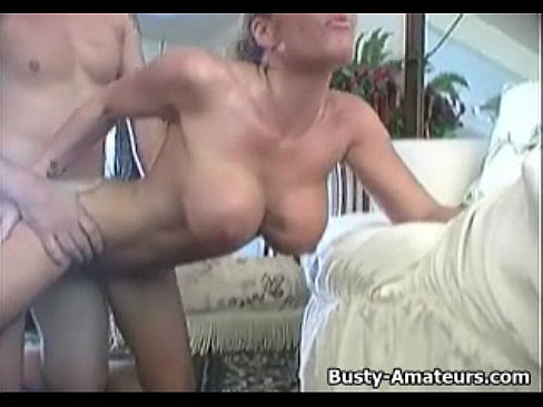Busty amateur Tera sucking and fucking 7 min
