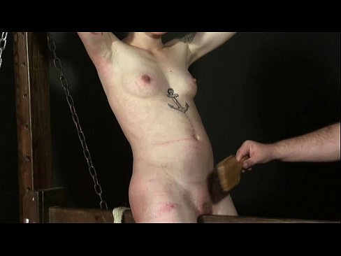 Angels Breast Whipping And Frontal Spanki