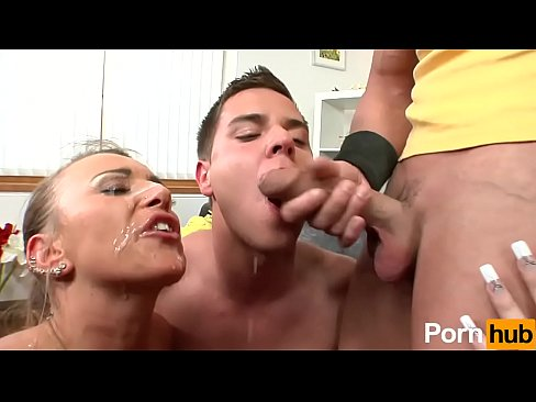 2 bisexual guys with two sexy girls