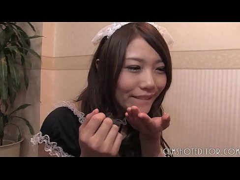 Young Submissive Japanese Teen Serving Men
