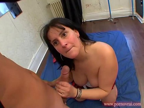 image Amateur chubby french redhead whore banged by an old man