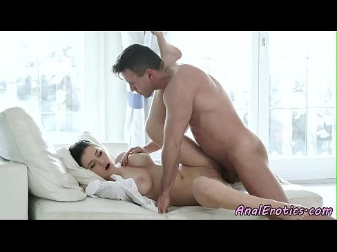 Gorgeous assfucked eurobabe enjoys hard cock