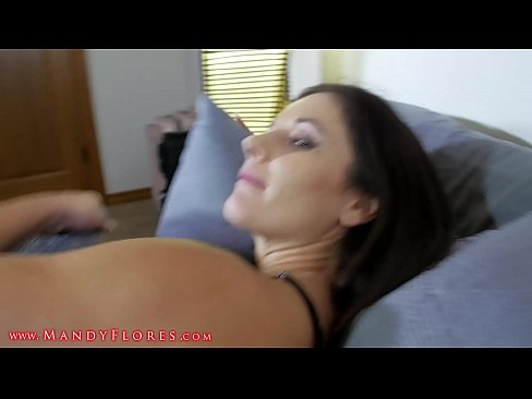 Mom and Step Son Share a Bed HD Mandy Flores MILF