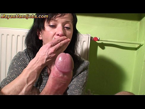 3 cumshots on Maya clothes legs and face 7 min HD+