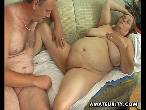 Old whore fucks young stud think