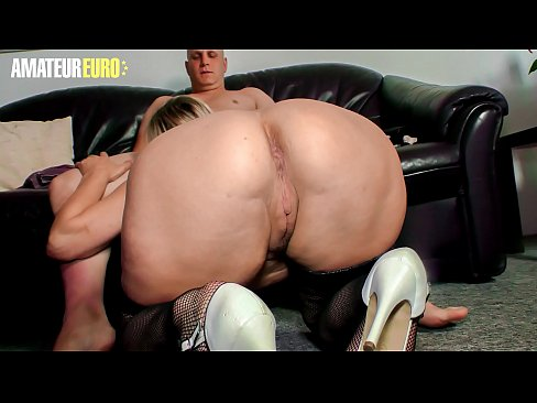 AMATEUR EURO - German BBW Oda Amelie Gets Picked Up And Fucked By Naughty Guy
