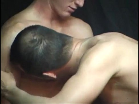 Luscious big dick filthy spunk eating gay twinks threesome ramming
