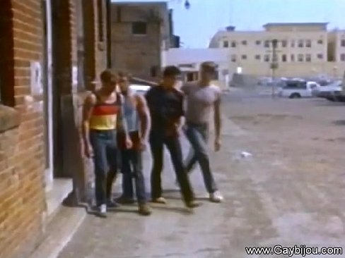 Vintage Gay Action On City Streets 6 min