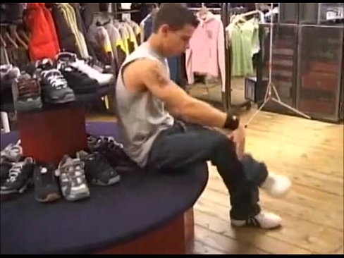 Brent Everett Fucks In A Clothing Store