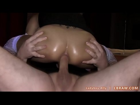 Compilation of thai shemales get cumloads on their ass holes