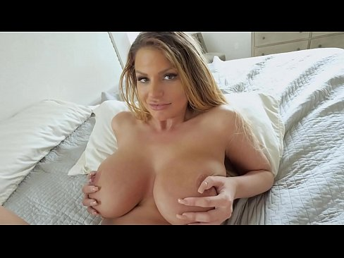 Hot step mom with huge boobs fucked real hard