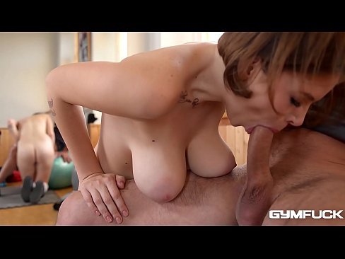 Busty Gym Brat Marina Visconti gets some Big Dick Sexercise