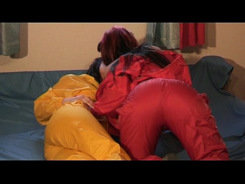 cumshot nylon rainwear movies