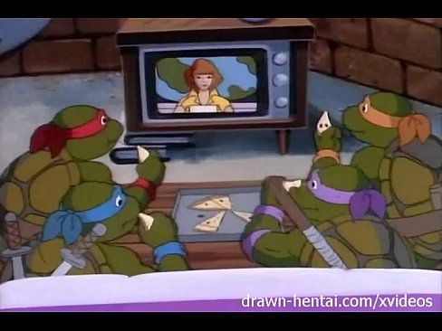 TMNT Hentai April interviews Rat King  [Hentai Anime 3D Porn HentaiPornTube.net]