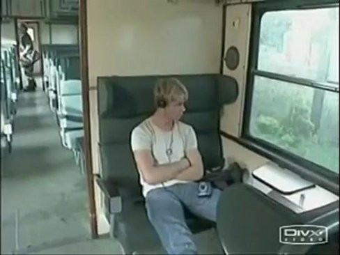 gatoesacana.blogspot.com - Blond guys fuck on the train