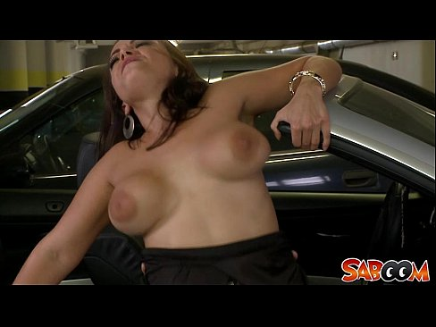 Totally wasted car sex