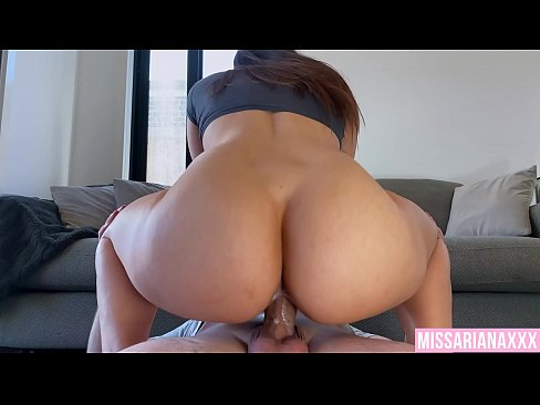 Hot brunettes pussy is too tight! - creampie