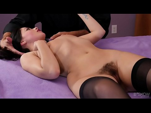 Hairy Ava Dalush loves big cock