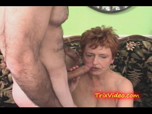 Grandma gang facials pussy taking clover's