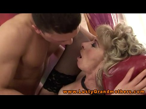 Amateur grandmother being used for cash 10