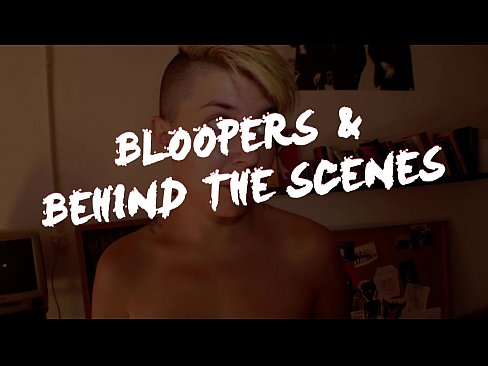 Tattoos Blond Straight video: Bloopers of Alice Inside by Lucie Blush