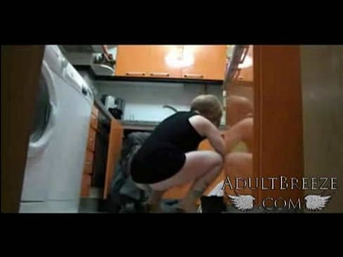 Needs plumber tease kitchen video housewife upskirt would the shit