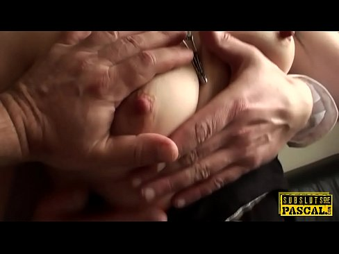 Sub brittish cunt squirts for rough maledom