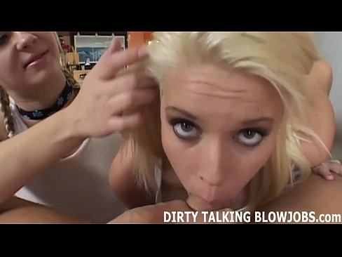 Dirty talking blowjob