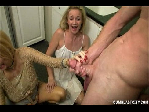 Mother and son cumshots