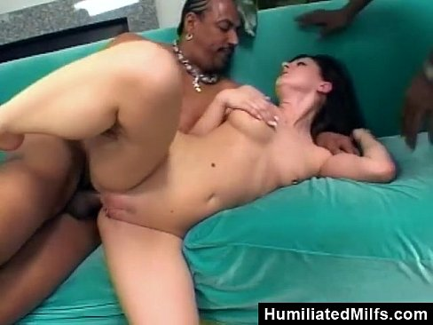Destroyed By Two Big Black Cocks