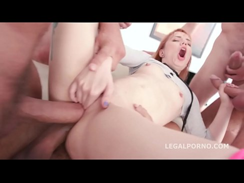Double Anal Delivery with Kira Roller - Balls Deep with Great Facial