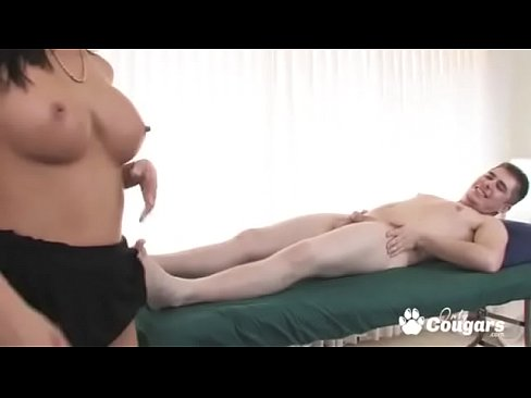 Asian Masseuse With Amazing Tits Gives A Happy Ending