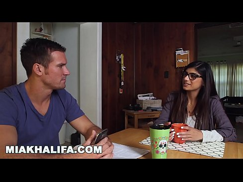 MIA KHALIFA - Big Tits Arab Pornstar Cheats On BF with Two Black Studs