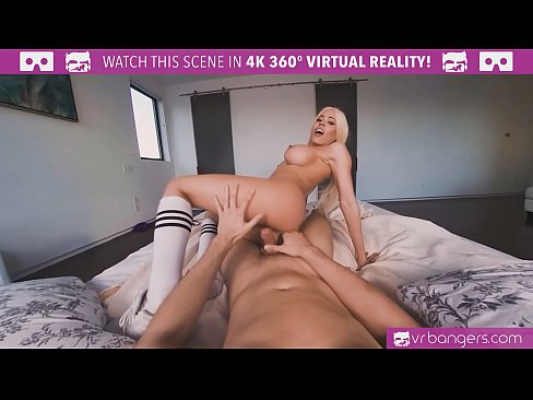VRBangers.com-Teen cheerleader Luna Star fucked hard by a big dick