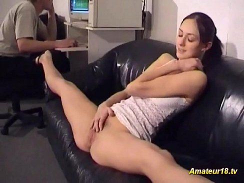 video of small breasted petite brunette fucking