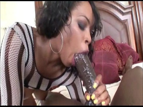 Ebony wife gets fucked by BBC while her husband is at work