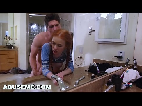 ABUSEME - Petite Redhead Dolly Little Likes it Rough and Hard