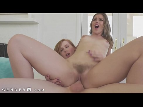 GenderX - Girl Fucked By Her Husband's Trans Mistress