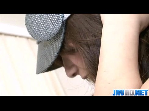 Japanese hottie Suzanna pounded hard and cum loaded in her muff