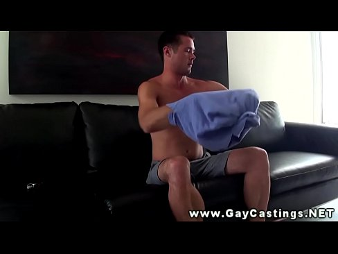 Timid bottom at a gaycasting
