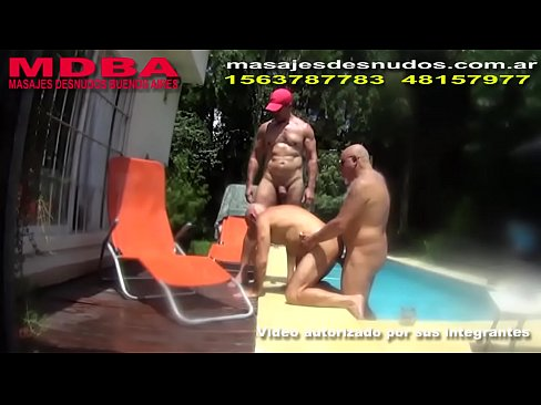 FRIENDS IN THE POOL by Nudemassage