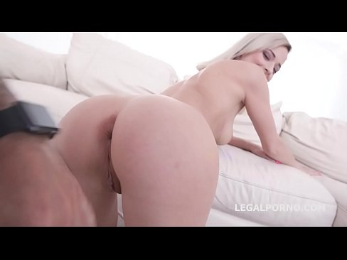 Skinny Slut Ria Sunn Double Anal Endurance 6on1 - Beast Mode!